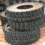 Roda motriz escavadeira