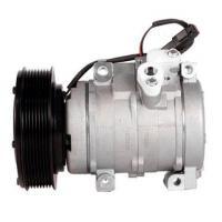 Compressor de ar condicionado para tratores